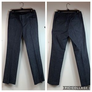 Gap curvy fit flare leg dark denim trousers jeans